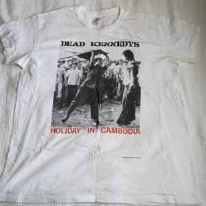 Other - Dead Kennedys Holiday in Cambodia Band T-Shirt